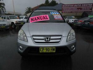 2005 Honda CR-V 2005 Upgrade (4x4) Sport Silver 5 Speed Manual Wagon