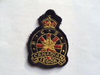 Canadian Legion Sew-on Patch