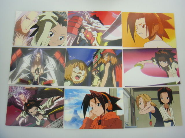 Japanese Anime Shaman King Card x54 pages
