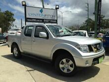 2011 Nissan Navara D40 MY11 ST Silver 6 SPEED Manual Utility Southport Gold Coast City Preview