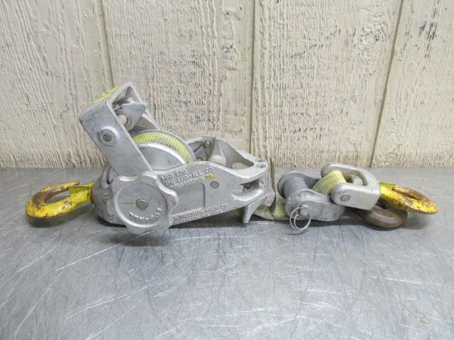 Lincoln Lug-All Belt Strap Lever Hoist Lineman Ratchet Puller 1000/2000 Lbs