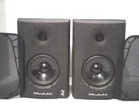 100W Wharfedale Black Diamond 7.1 Stereo Speakers - Heathrow