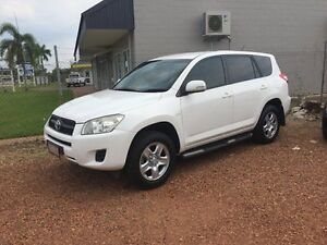 2010 Toyota RAV4 White 4 Speed Auto Active Select Wagon Hidden Valley Darwin City Preview