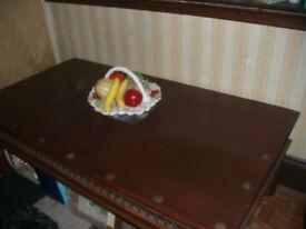MASSIVE SOLID COFFEE TABLE ** 166cm x 100cm ** CLACTON ON SEA CO15 6AJ Clacton-on-Sea