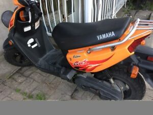 Moto Yamaha Modéle YW50