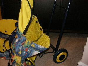 Back Pack with 2 Wheeled Towing Cart. REDUCED! Regina Regina Area image 2