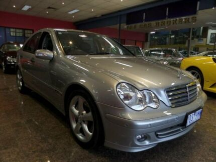 2006 Mercedes-Benz C180 W203 MY07 Upgrade Kompressor Classic Cubanite Silver 5 Speed Auto Tipshift S South Melbourne Port Phillip Preview