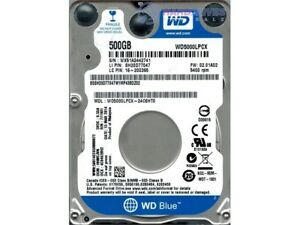 Disque dur pour Portable 500G 2.5po SATA 6GB/s 16MB WD