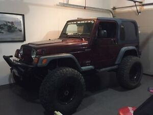 2003 Jeep TJ Sport - 40in Tires