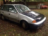3 geo metros for sale, parts of fix