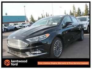 2017 Ford Fusion SE luxury pkg 202A, NAV, heated front seats, re