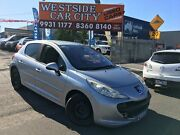 2008 Peugeot 207 XT HDI Silver 5 Speed Manual Hatchback Laverton Wyndham Area Preview