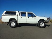 1993 Mitsubishi Triton MJ (4x4) White 5 Speed Manual 4x4 Brendale Pine Rivers Area Preview