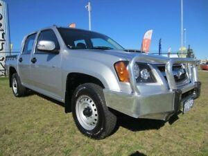2011 Holden Colorado RC LX Silver Manual Utility Wangara Wanneroo Area Preview