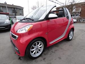 2014 SMART FORTWO ELECTRIC DRIVE PASSION CABRIOLET (6,000 KM!!!)
