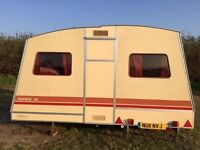 RAPIDO 4 BERTH - 4 BED TRAILER FOLDABLE FOLD UP CARAVAN WITH AWNING