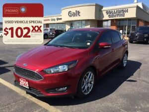 2015 Ford Focus SE | HEATED SEATS BACK UP CAM LOW KMS