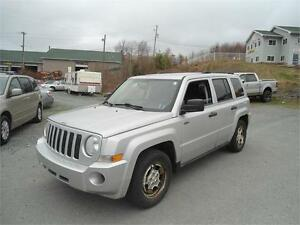 2008 JEEP PATRIOT FWD  + REMOTE STARTER