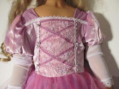Prinzessinenkleid 122 Kostüm Prinzessin Kleid Fee Königin Schloß rosa Tüll Neu
