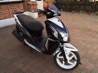 SYM AD12W JET 4 125 scooter