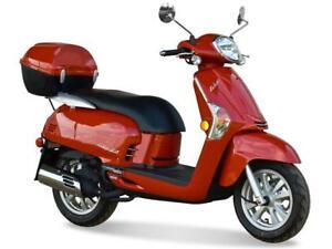 2015 KYMCO Like 200i (Red)