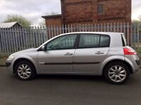 2006 Renault Megane Hatchback With Sun Roofs 1.6 16V, couple of little scrapes, Runs Great!!