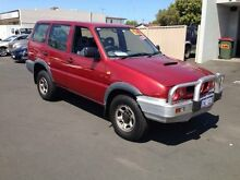 1997 Nissan Terrano II Red Manual Wagon Bunbury 6230 Bunbury Area Preview