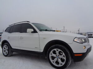 2009 BMW X3 30i X-DRIVE-LEATHER-SUNROOF-EXCELLENT SHAPE IN/OUT