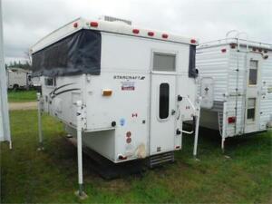 2009 Starcraft 800 Pop up Truck Camper w bathroom & AC