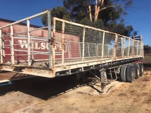 Trailer Flat Top Freighter 31ft SN701 9RU984 Malaga Swan Area Preview