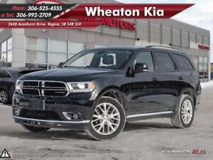 2016 Dodge Durango Limited *Heated Leather* Navigation* Sunroof*