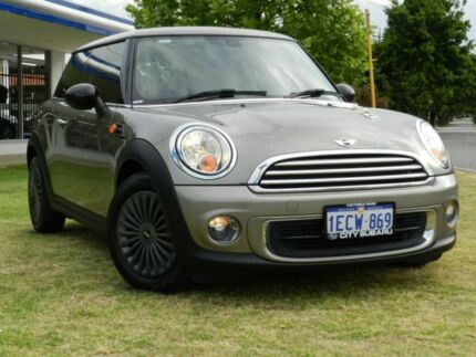 2013 Mini Hatch R56 LCI Ray Steptronic Silver 6 Speed Sports Automatic Hatchback Victoria Park Victoria Park Area Preview