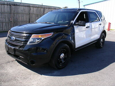 explorer p i police interceptor awd 3 7 wrecked clean title n0t salvage loaded used ford. Black Bedroom Furniture Sets. Home Design Ideas