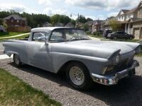 Rare Custom 1957 Ford Ranchero - Runs Great!