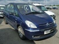 2005 CITROEN XSARA PICASSO - CAT C - DARK BLUE - PARTS OR WHOLE CAR