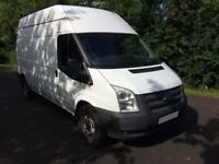FORD TRANST 2013(63) 350 LWB RWD HIGH ROOF ONE OWNER FULL SERVICE HISTORY NO VAT