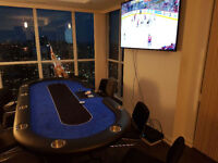 Poker Cash in Penthouse Condo!! Jays Games On Huge HDTV!!