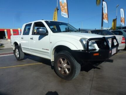 2004 Holden Rodeo RA LT (4x4) White 5 Speed Manual Crewcab Strathpine Pine Rivers Area Preview