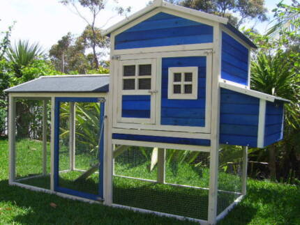 Chicken Coop Somerzby  Mansion Rabbit Hutch Cat Enclosure Run