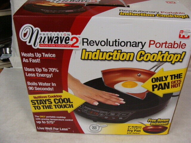 new in box 2 precision induction cooktop