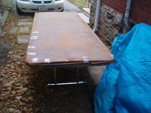 Sturdy Folding Wooden Banquet Tables Kitchener / Waterloo Kitchener Area image 2