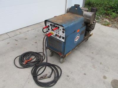 Miller Aead-200le Portable Gas Welder Generator 120240v 225 Amp 4000w 4 Kw