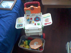 2 in 1 cook & shop vtech