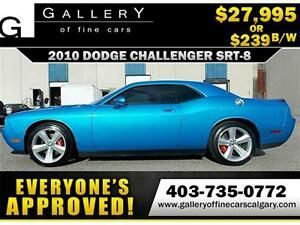 2010 Dodge Challenger SRT8 $239 bi-weekly APPLY NOW DRIVE NOW