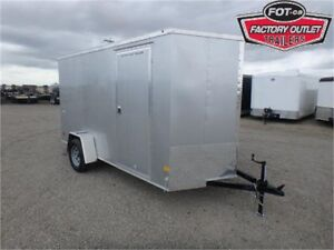 6 X 12 BY WELLS CARGO - LOADED W/OPTIONS FOR ONLY $4,549 TAX IN!
