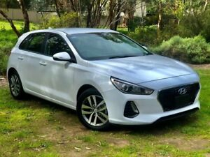 2017 Hyundai i30 PD MY18 Active Polar White 6 Speed Manual Hatchback Reynella Morphett Vale Area Preview