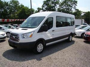 2015 Ford Transit Wagon XLT 12 Passenger Medium Roof 42,000 kms