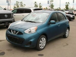 2018 Nissan Micra SV: AUTO, POWER CONVENIENCE PACKAGE, AIR, BLUE