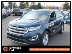 2017 Ford Edge SEL utility pkg 201A 2.0L ecoboost AWD, NAV, pano