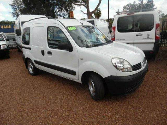 d911c750a2 2009 Renault Kangoo X76 Integral White 4 Speed Automatic Van